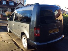 VW CADDY MAXI LIFE- Wheelchair Access Vehicle / 7 Seater