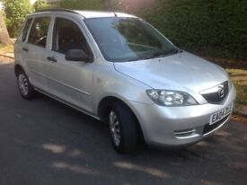 Mazda2 1.25 S 5dr Man 2004 (04 Reg) - PX to Clear with New MOT & service completed