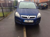 VAUXHALL ZAFIRA 1.6 Life 5DR hatchback Patrol Manual 2006 Full hISTROY 11 Mouth mot miles 98000
