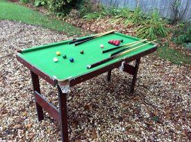 Children's snooker table for sale