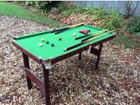 Children's snooker table for sale