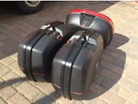 Givi hard luggage for motorbike