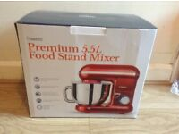 Premium 5.5l food stand mixer brand new