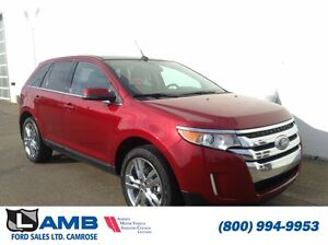 2013 Ford Edge 301A Limited AWD 3.5L Moonroof Navigation Trailer