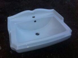 Legend bathroom sink, white, brand new, boxed