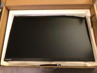 Lenovo 2k QHD Monitor 27inch - 1 Billion colour support! - Excellent condition. Boxed.