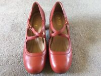 Hotter Florielle women's red shoes