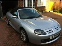 MG MGTF MGTF 135 Sunstorm (2004) Silver Convertible with Hard top. Only 45900 miles. 1 Lady Owner.