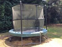 Jumpking 10ft Circular Trampoline with Safety Net in Full Working Order