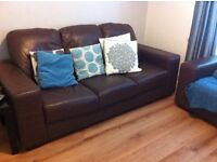 2 sofas 2 and 3 seater good condition.
