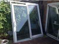 Patio doors good condition (complete)