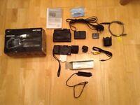 Ricoh Caplio GX100 digital camera with vr kit and accessories