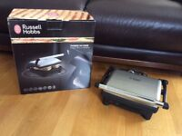 GEORGE FORMAN / RUSSELL HOBBS 3 IN 1 GRIDDLE.