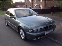 BMW e39. 525i. 5 Series. Automatic