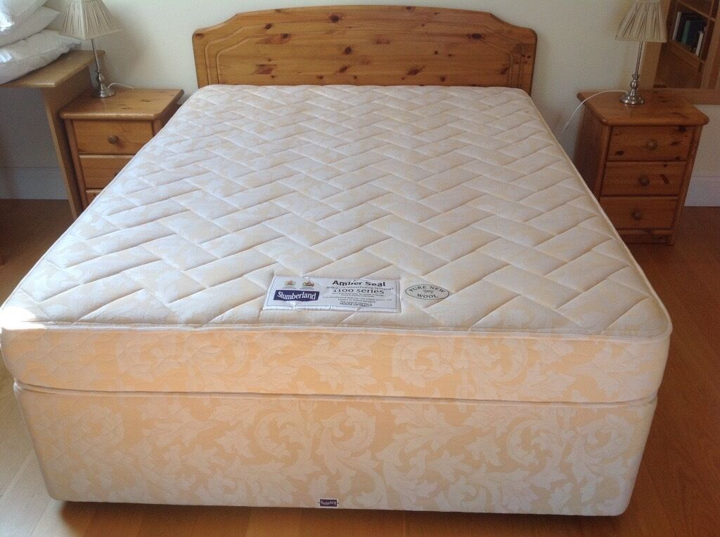 Kingsize Slumberland Divan Bed with 4 drawers and 1100 Posture ...