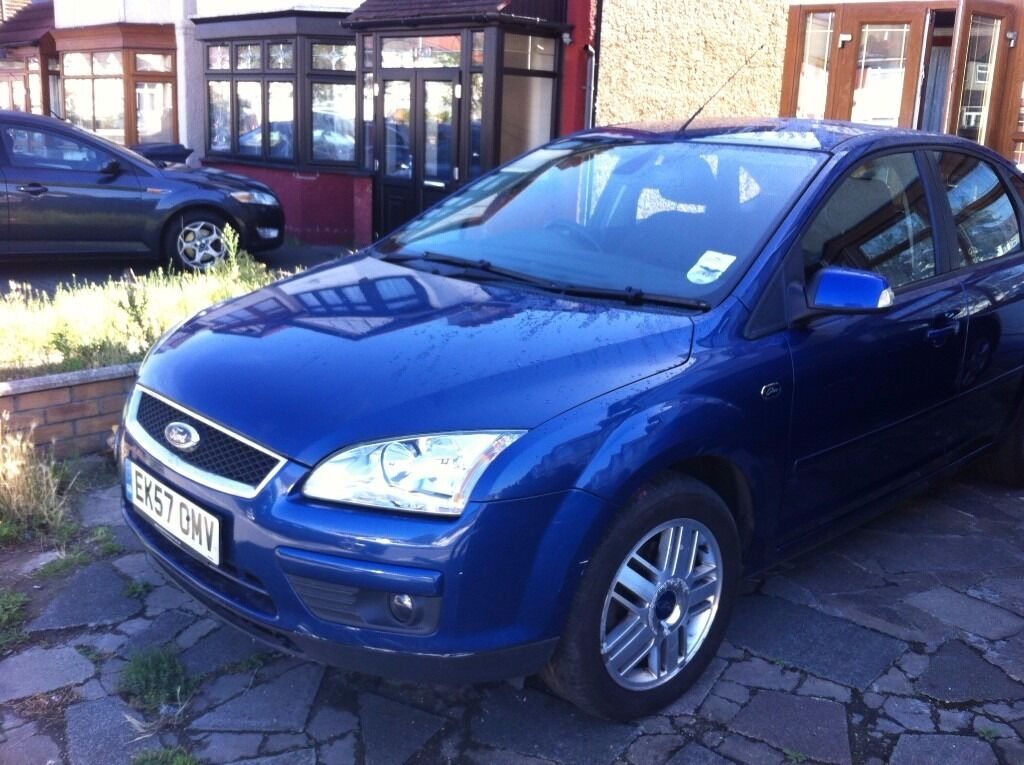 Ford Focus 5 dr Blue Ghia BRILLIANT DRIVE BARGAIN PRICE