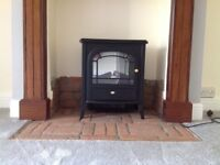 """Dimplex Electric Stove Effect Heater, """"Club Optiflame"""" CLB 20R"""