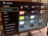 Panasonic 50-inch Smart ULTRA SLIM LED TV,50CS520B, built in Wifi, Freeview HD, GREAT condition