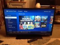 Toshiba 40 inch LCD TV with built in DVD and freeview