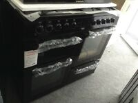 Beko black range 100cm new graded 12 month Gtee RRP £489