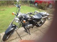 Suzuki GZ 125 Marauder A lovely bike in black New Mot