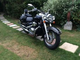 Suzuki Intruder 800, low mileage: This is a Reliable comfortable and a trust worthy ride.