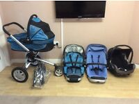 Quinny buzz baby travel system (pram / pushchair)