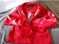 Barbour Jacket, XL 12/13 Red