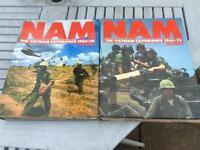 Nam magazines in full binders.