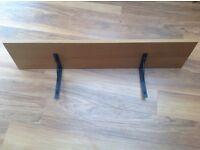 Ikea Ekby shelf and brackets