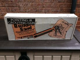 Brand new pointing and grouting gun