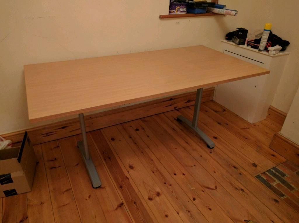 Office desk - 160 x 80 cm good condition