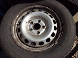 4 caddy wheels 195 x 65 x15