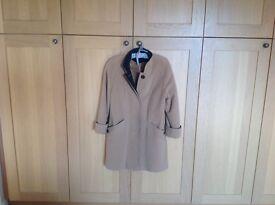 Lovely Hamells wool and cashmere blend winter coat