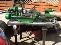 Two Lathes one woodworking one metal