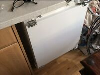 Smeg intergrated fridge