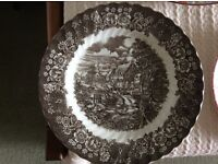 Various vintage China Plates