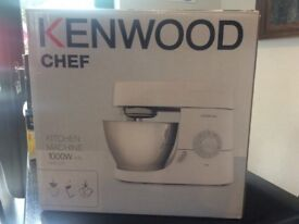 Kenwood Chef Food Mixer 1000w KMC515 - less than a year old! Used couple of times - still in box.