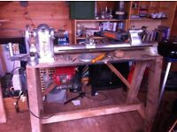 Quality Myford ML8 lathe - classic British engineering
