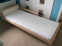 Junior/Toddler/Children's/Child's bed - IKEA Sniglar and mattress, as new.