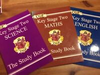 Key Stage Two Science, Maths & English study Guides