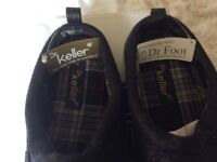 Dr KELLER [Freddie] Men's Slip on Mules soft Padded Cushioned insole hard Soles