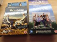 Selection of DVDs box sets