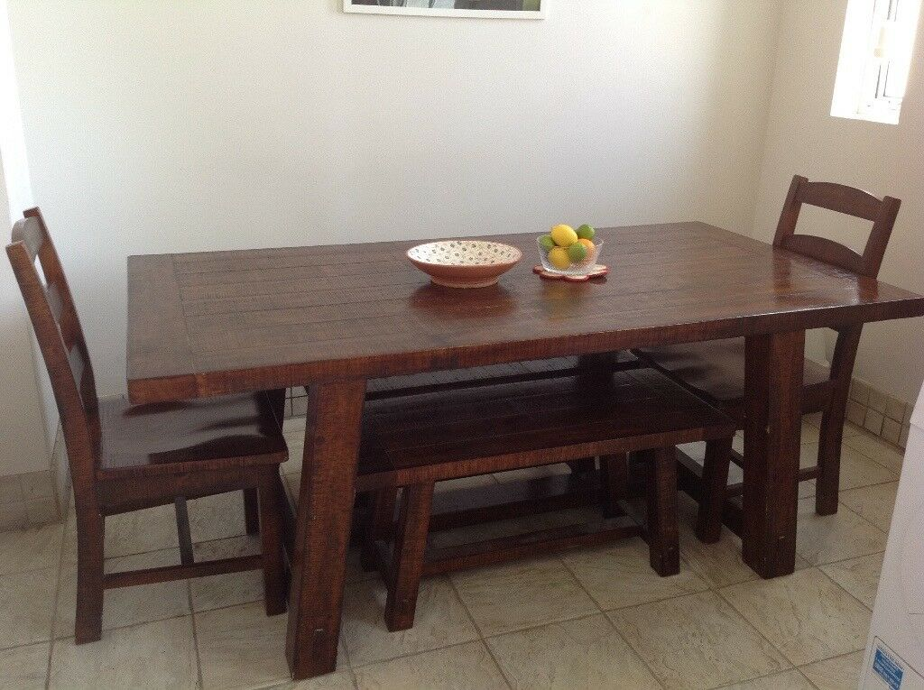 Solid Hardwood Dining Table 6