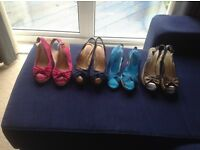Lovely colourful summer sandals