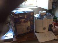 Kenwood juice extracter