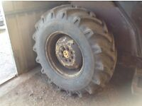 Massey Ferguson 28ich wheels And tyre's