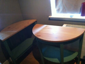 Pair of Semicircle tables/Side tables