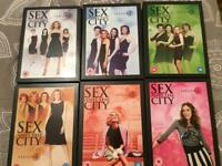 Sex And The City DVD's -Series 1-6