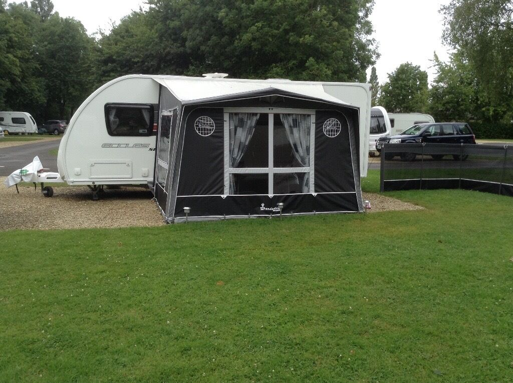 Isabella Magnum 230 Porch Awning 2014 With Bedroom Annexe Extras
